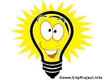 Ampoule idée clip art gratuit – Entreprise dessin