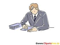 Burn-out clip arts gratuits – Entreprise illustrations