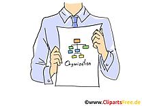 Business plan illustration – Entreprise clipart