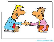 Contrat clip arts gratuits – Entreprise illustrations