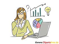 Femme d'affaire clipart – Entreprise dessins gratuits