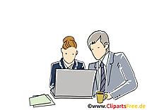 Job entreprise illustration à télécharger gratuite