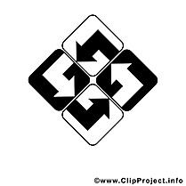 Logo dessin – Entreprise clip arts gratuits