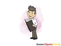 Manager dessin – Entreprise clip arts gratuits