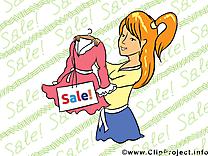 Shoping illustration gratuite – Entreprise clipart