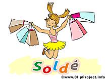 Shopping entreprise illustration à télécharger