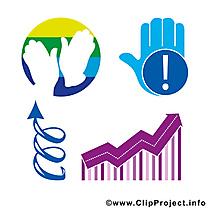 Symboles clip art – Entreprise gratuite