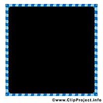 Bleu carré clipart gratuit – Cadre images