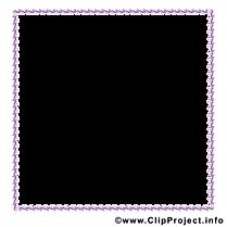 Bordure clip art gratuit – Cadre images