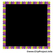 Carré illustration gratuite – Cadre clipart