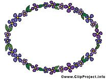 Circle clip arts gratuits – Cadre illustrations