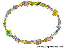 Circle dessins gratuits – Cadre clipart