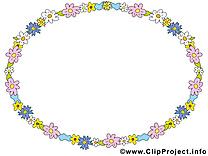 Circle images – Cadre clip art gratuit