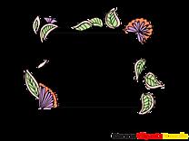 Clip arts gratuits fleurs – Cadre illustrations