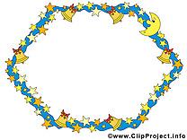 Clochettes image gratuite – Cadre clipart