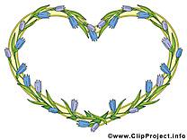 Coeur image gratuite – Cadre illustration