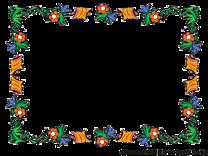 Fleur cadre illustration à télécharger gratuite