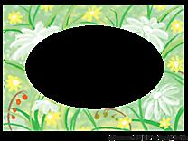 Fleurs cadre image à télécharger gratuite