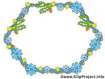 Fleurs dessin – Cadre clip arts gratuits