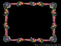 Fleurs image à télécharger – Cadre clipart