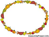 Fruits cliparts gratuis – Cadre images
