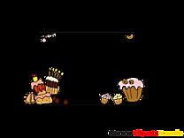 Gâteaux clip art gratuit – Cadre dessin