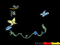 Insects images – Cadre clip art gratuit