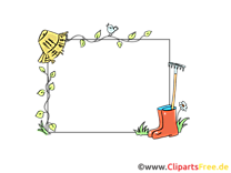 Jardin clip art gratuit – Cadre images