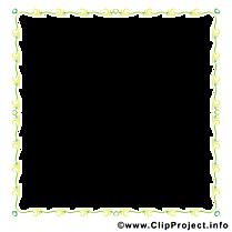 Jaune rectangle image à télécharger – Cadre clipart
