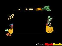 Legumes image gratuite – Cadre clipart