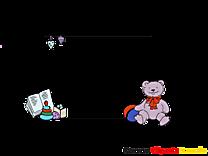 Ours en peluche illustration – Cadre images