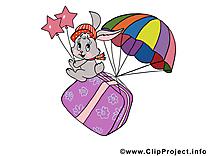 Cadeau illustration gratuite – Carnaval clipart