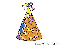 Chapeau illustration gratuite – Carnaval clipart