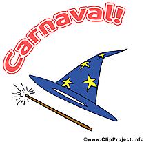 Magicien images gratuites – Carnaval clipart
