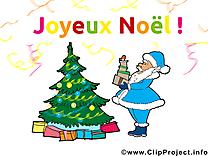 Card Père Noël gratuit