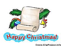 Carte dessin gratuit – Noël image