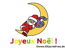 Carte virtuelle Joyeux Noël gratuite