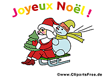 Cartes virtuelles noël