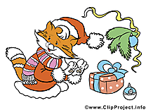Cliparts gratuits de Noel