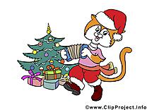 Illustrations gratuites de Noël