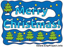 Merry Christmas clipart, images gratuite