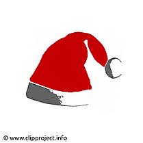 Noël chapeau clipart, image, card