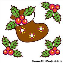 Noël clipart, comic, ecard, image gratuit