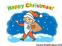 Père images gratuites – Joyeux Noël clipart