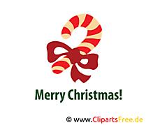 Sucrerie clipart – Noël dessins gratuits