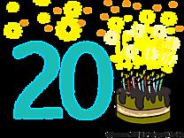20 ans image gratuite – Anniversaire cliparts