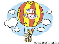 Ballon images – Anniversaire dessins gratuits