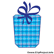 Cadeau clip arts gratuits – Anniversaire illustrations