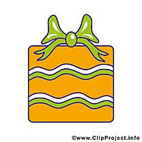 Cliparts gratuis cadeau – Anniversaire images