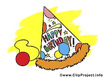 Fête anniversaire image à télécharger gratuite